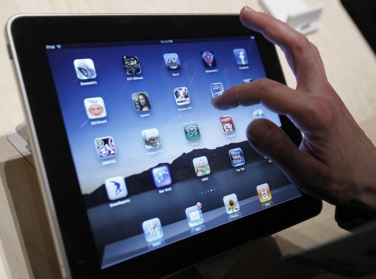 Image: Apple's iPad