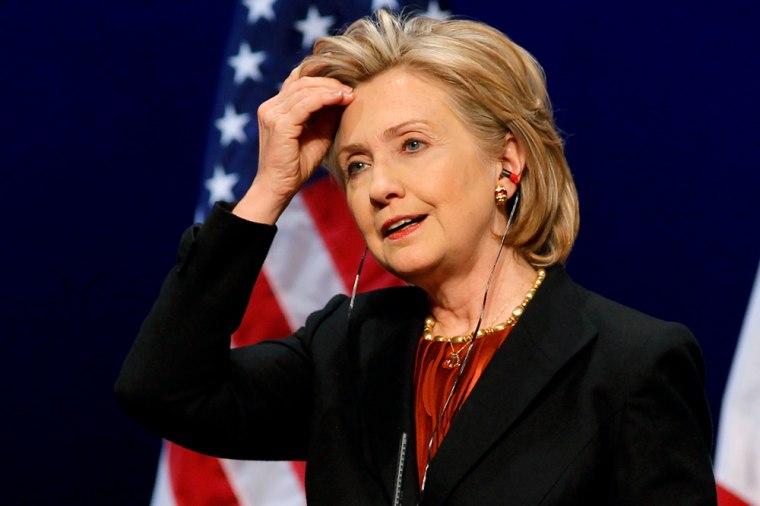 Image: US Secretary of State Clinton