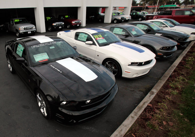 Image: Ford Mustangs