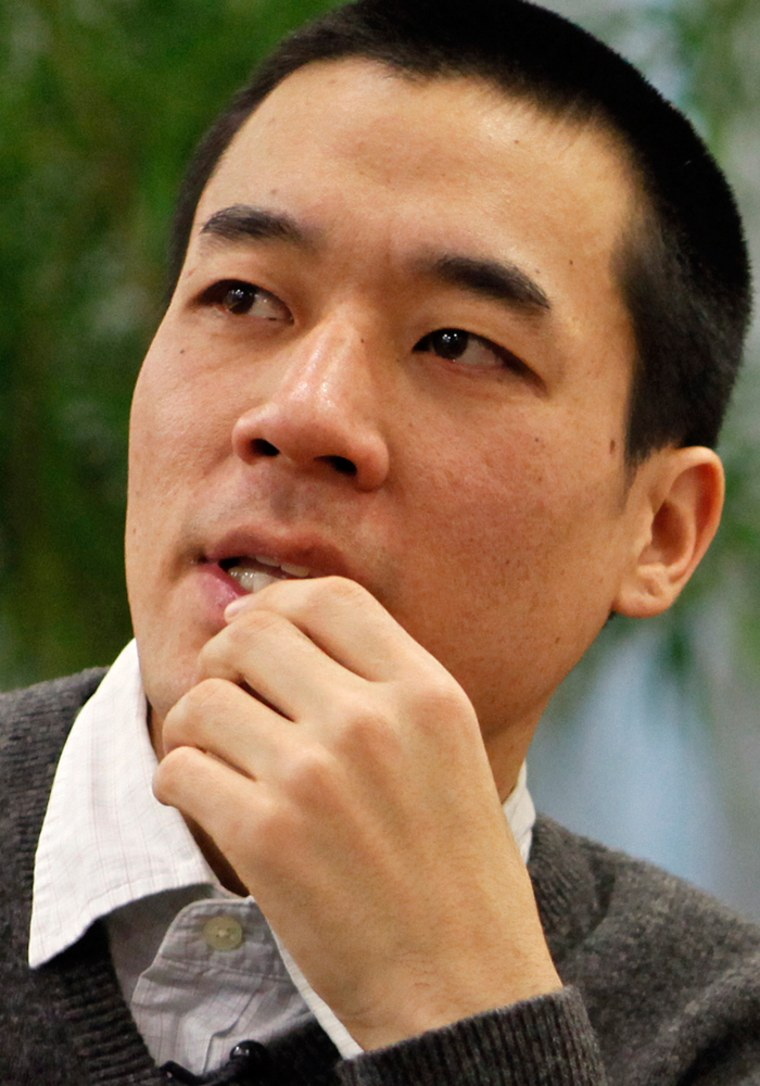 Image: File photo of Robert Park speaking during an interview with Reuters in Seoul