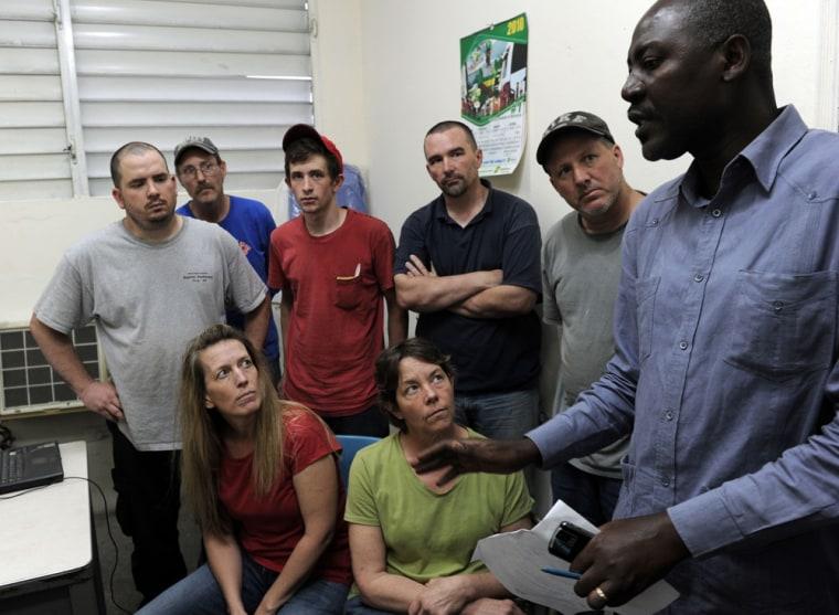 Image: Missionaries in Haiti