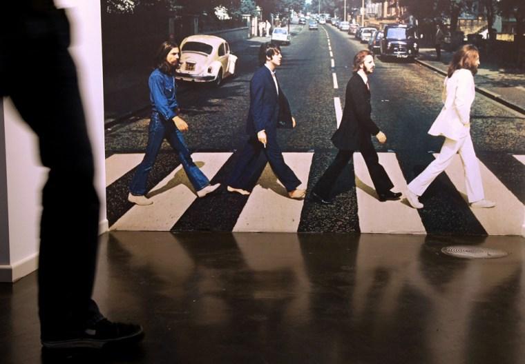 Image: Beatlemania Exhibition Opening