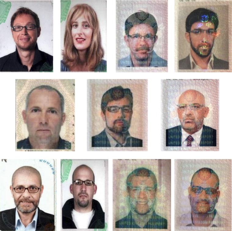 Image: Dubai murder suspects