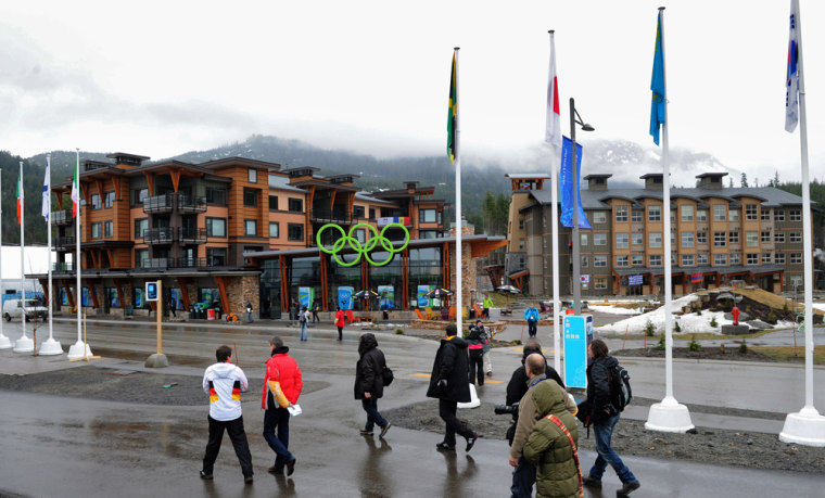 Image: General view of the Olympic Village