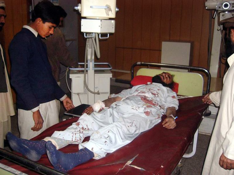Image: Bomb blast killed dozens in Khyber Agency
