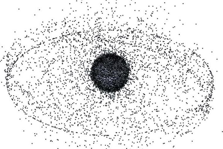 Image: Space junk