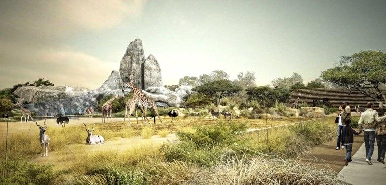 Image: future Vincennes zoo