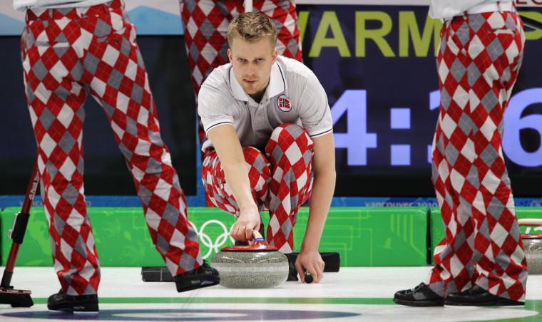 Image: Norwegian curling team