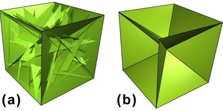 Image: Solar panel origami