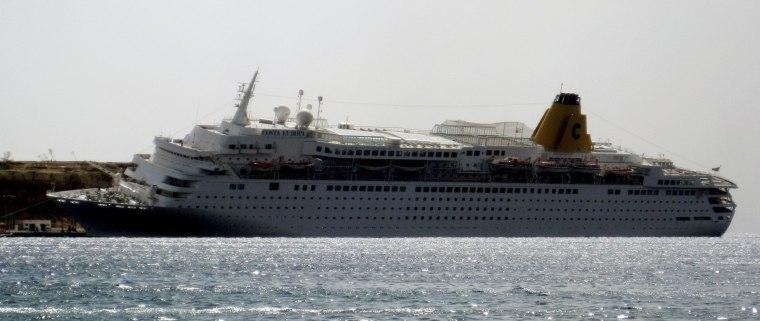 Image: Cruise ship accident