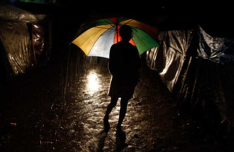 Image: Rain in Haiti