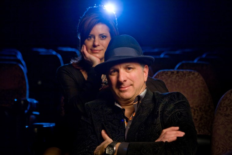 Image: Image: Mark and Kate Stern owners of the Big Pictures theater