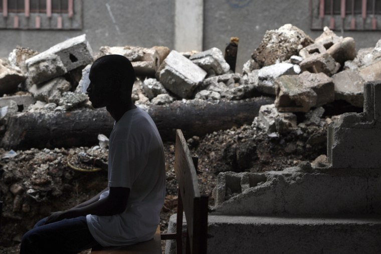 Image: Teenager who fled prison in Haiti