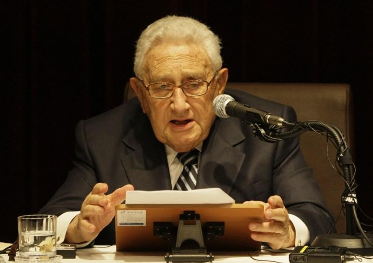 Image: Henry Kissinger