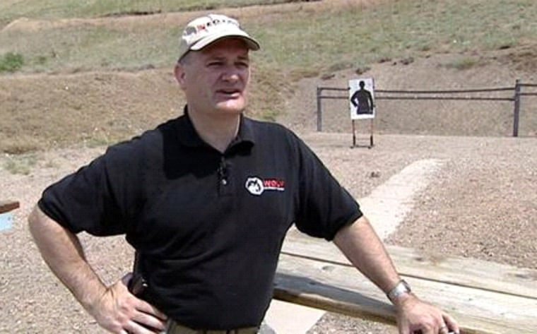 """Utah firearms expert W. Clark Aposhian: """"We don't just deny a permit based on a subjective line in the dirt where a border is."""""""