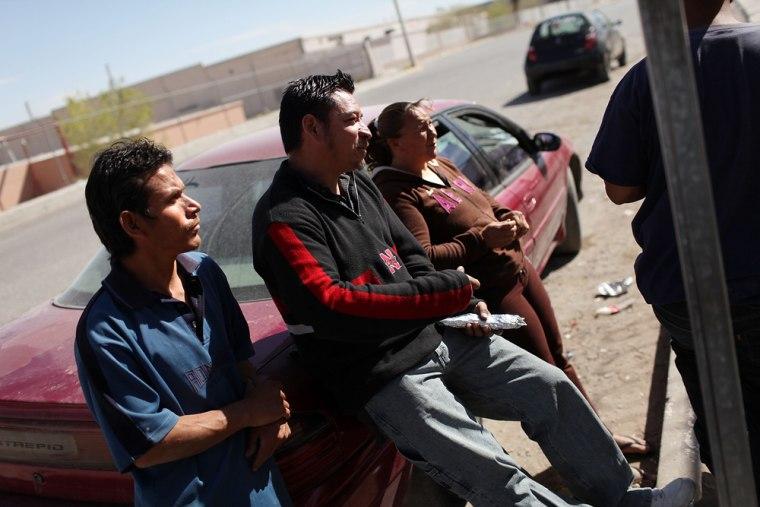 Image: Mexican Drug War Fuels Violence In Juarez