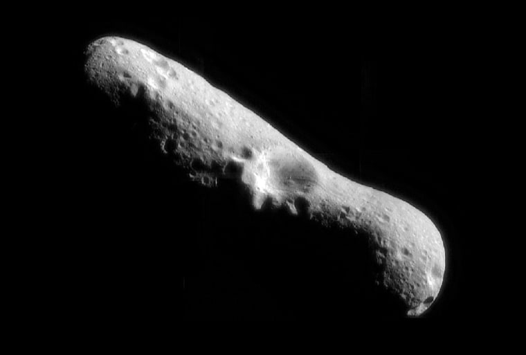 Image: North pole of asteroid