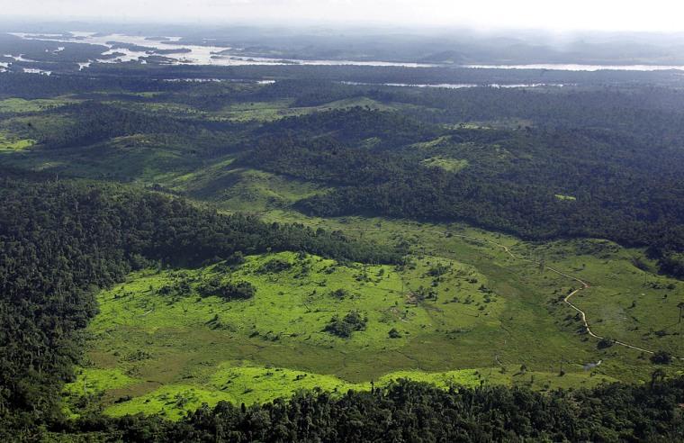 Image: Belo Monte dam site