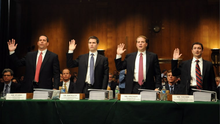 Image: Goldman Sachs testimony
