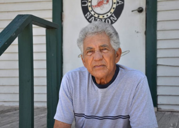 "Antoine ""Whitney"" Dardar, 75, a fisherman from Golden Meadow, La., is faced with deciding on a one-time ""quick payment"" of $25,000 for damages from the BP oil spill or pursuing a long and uncertain lawsuit to get greater compensation. Dardar, a member of the United Houma Nation, grew up on the bayou."