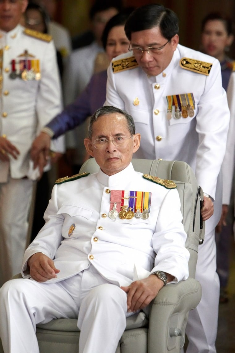 Image: Thai King Makes Appearance On Coronation Day