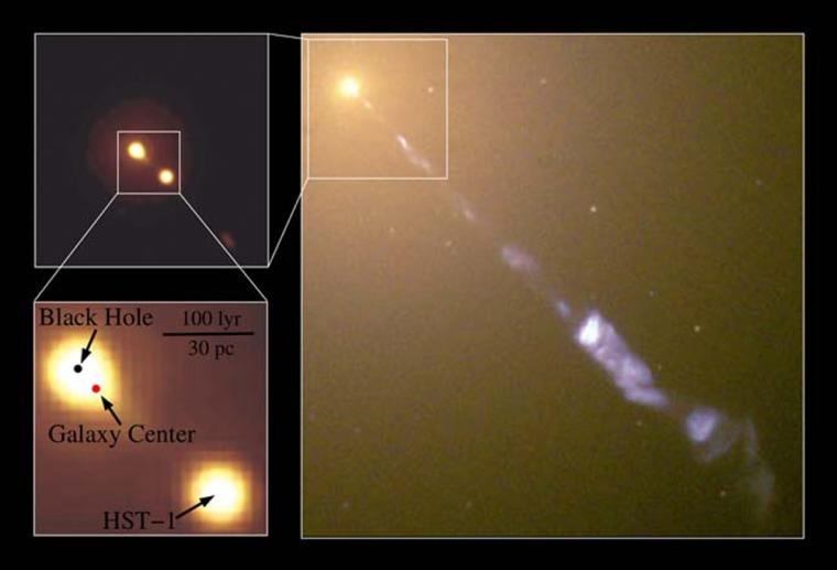 Image: Black hole in galaxy M87