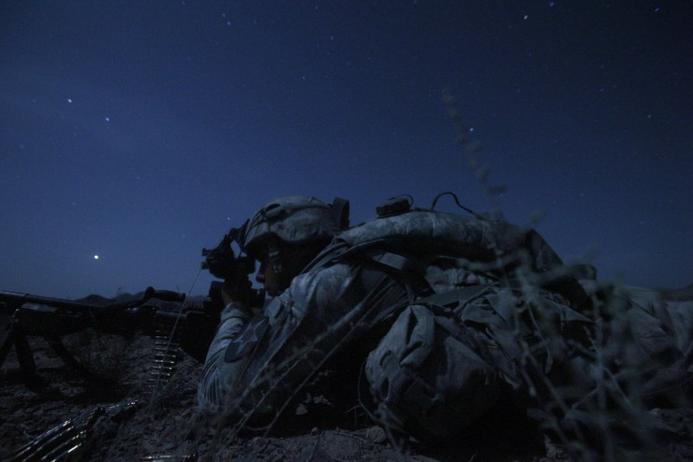 Image: 2nd Platoon, Charlie Company, 1st Battalion, 17th Infantry Regiment of the 5th Stryker Brigade