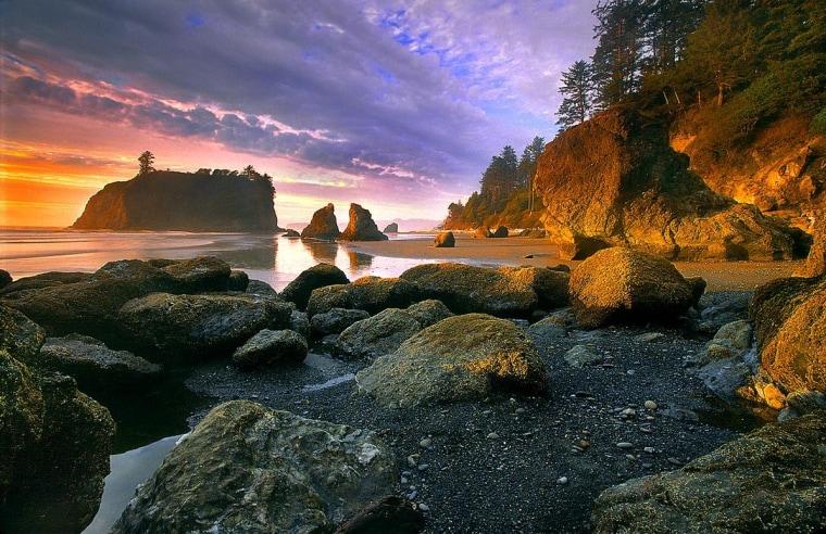 Image: Ruby Beach
