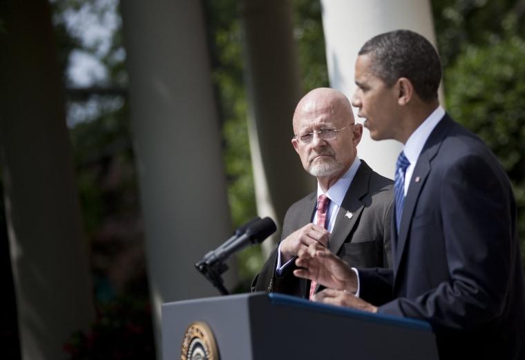 Image: Obama Announces James Clapper Jr. As National Intelligence Director