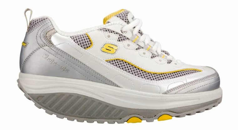 In the first four months of this year, sales of toning footwear such as these Skechers Shape-upsgrew to $252 million — 75 percent more than the total for all of 2009.