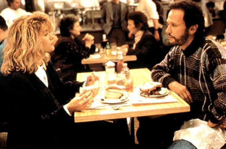 Image: Meg Ryan and Billy Crystal in When Harry Met Sally... - 1989