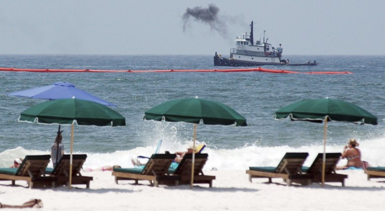 Image: Oil spill vacations