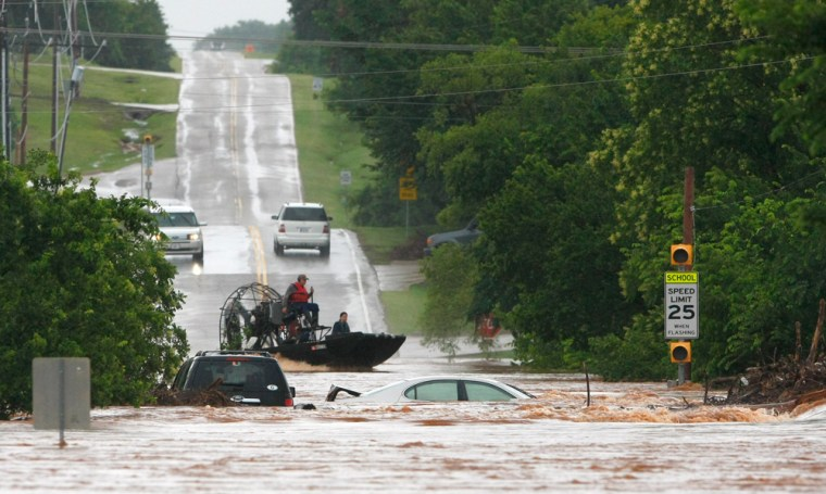Image: Oklahoma Storms Flooding