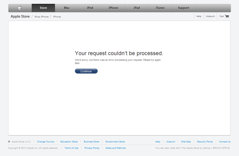 Image: Apple Web site