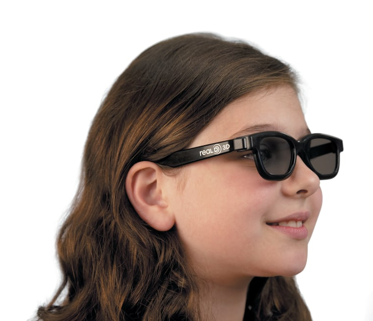 Image: Kid with 3-D glasses