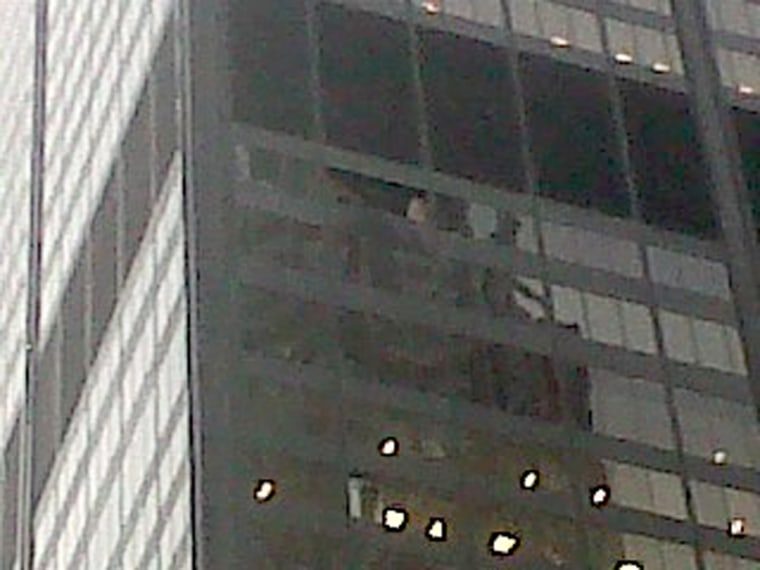 Image: Sears/Willis Tower lost two windows during an intense thunderstorm in Chi around 5 pm ET with winds up to 70 mph