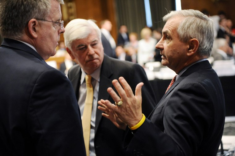 Image: Wall Street reform conference on Capitol Hill, in Washington