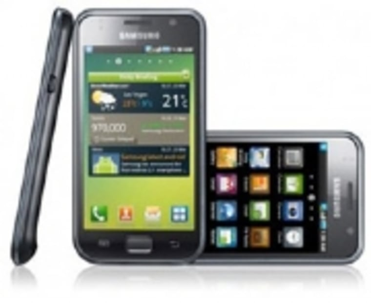 Image: Samsung Galaxy S shown at multiple angles