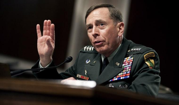 Image: Gen. Petraeus Testifies At Senate Confirmation Hearing