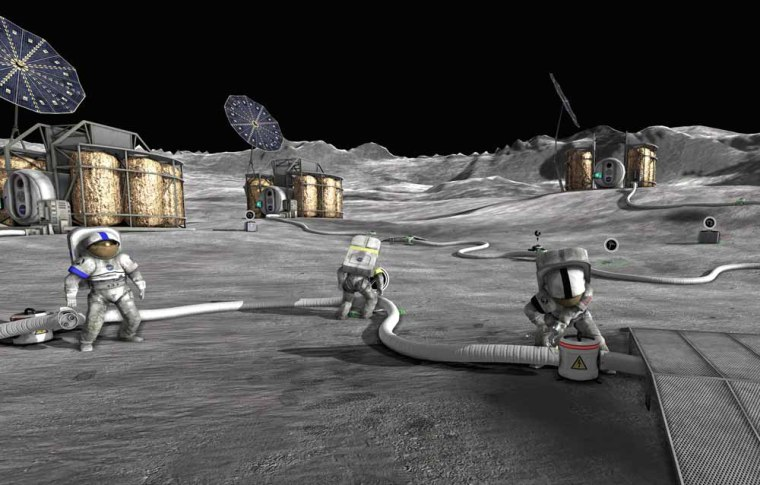 """NASA's """"Moonbase Alpha"""" allows up to six players to cooperate in saving a virtual lunar base from catastrophe."""
