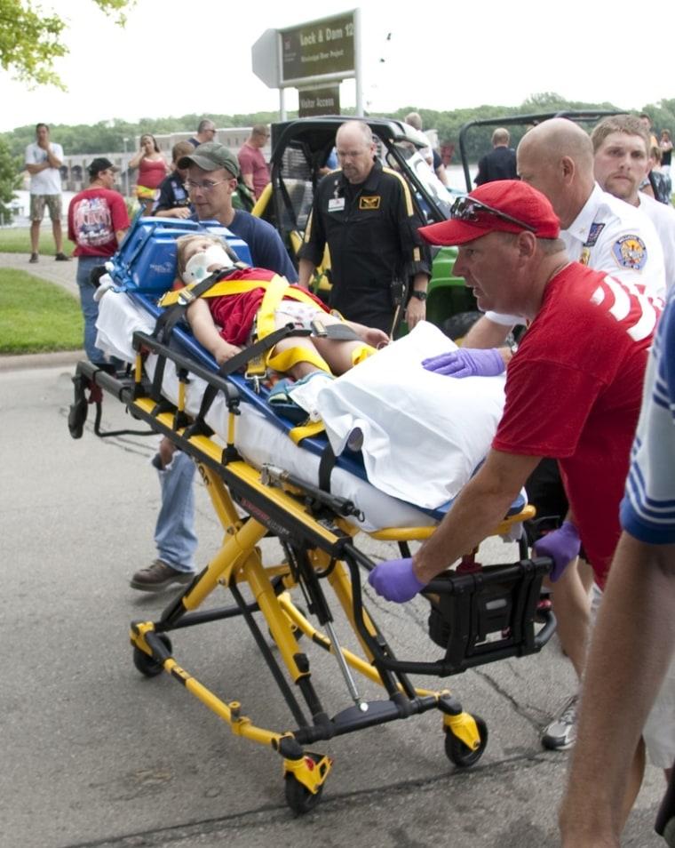Image: Child injured by parade horses