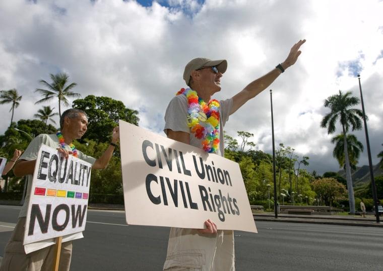 Image: Hawaii Civil Unions