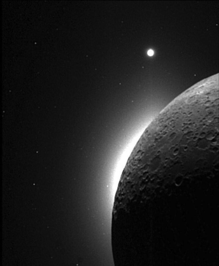 Image: A lunar sunrise