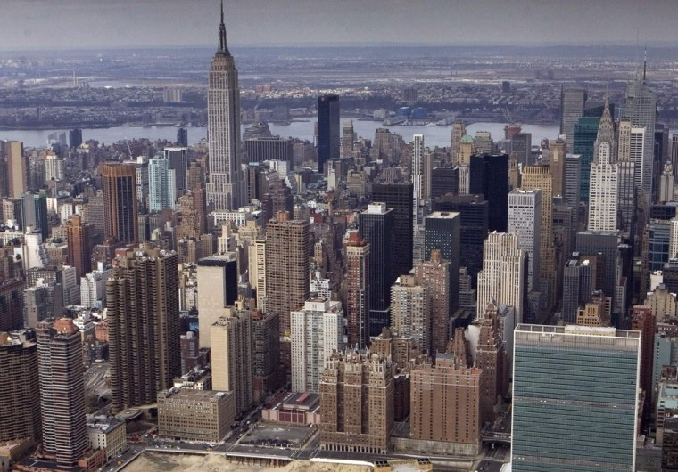 Image: An aerial view of New York