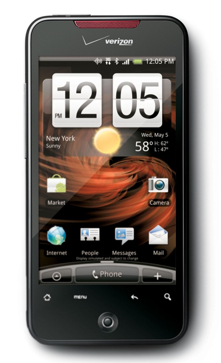 Image: VERIZON WIRELESS DROID INCREDIBLE BY HTC
