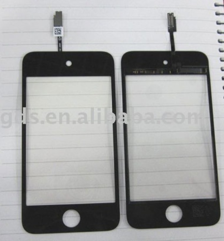 Image: Alleged iPod Touch 4 parts