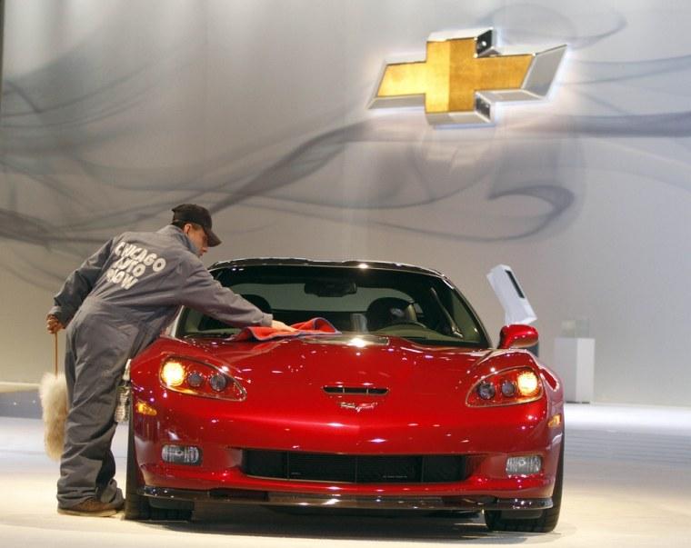 Image: Chevrolet Corvette, Auto Show