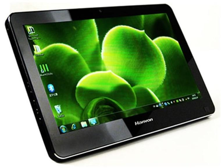 Image: Windows 7 tablet computer