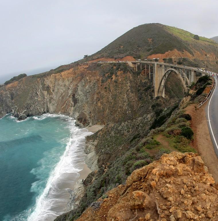 Image: Bixby Bridge on The Pacific Coast Highway