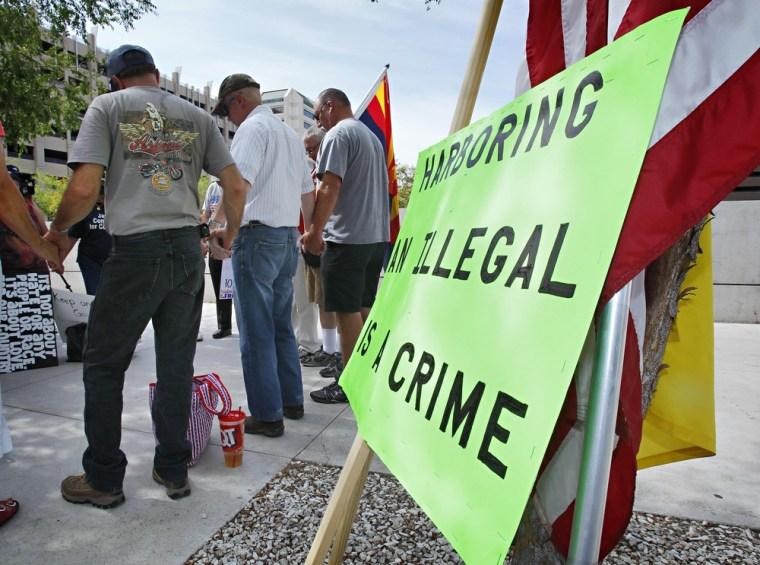 Image: Arizona immigration protests